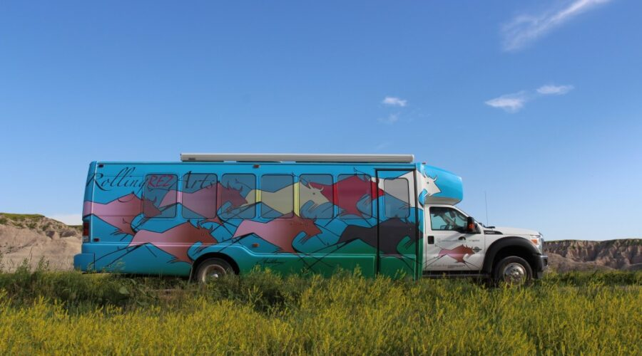Rolling Rez Arts bus success set to increase with physical building in Kyle