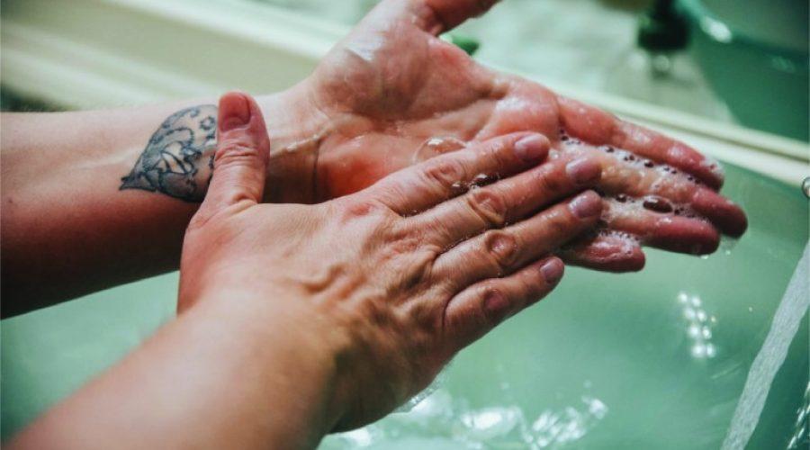 The hand washing step we often forget — moisturizing