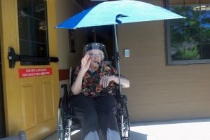 Distance care giving for aging loved ones in quarantine