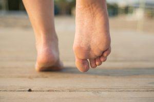 Summertime foot health