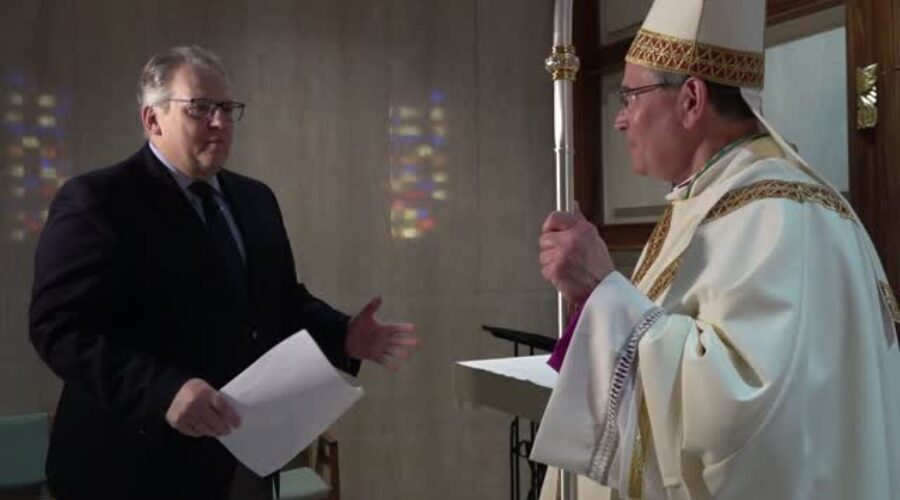 Bishop Peter Muhich ordination