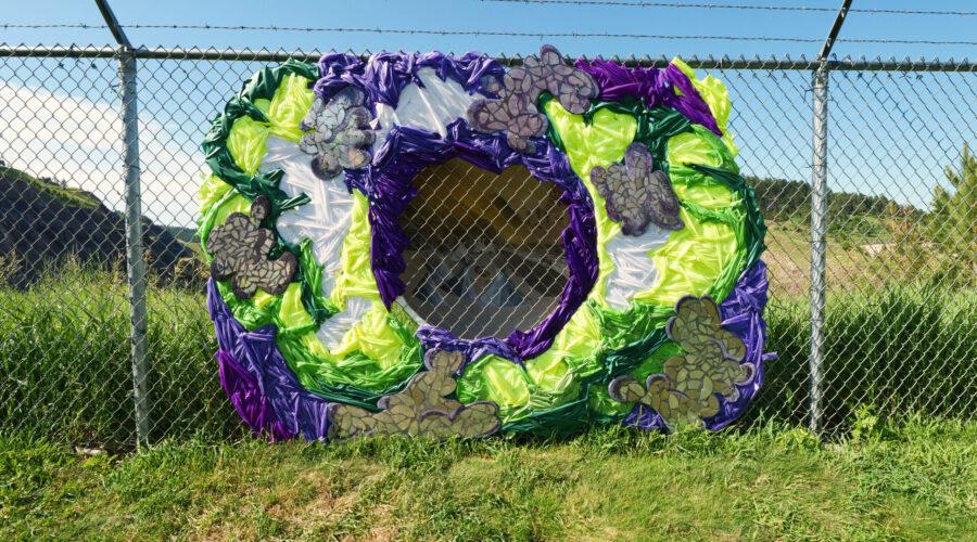 Outdoor art gallery brings communities together