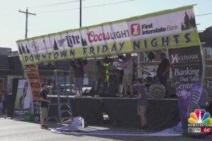 Weekly live music festival open in Spearfish, S.D.