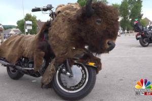 Buffalo Bike roars through Black Hills on 'One Last Ride' tour