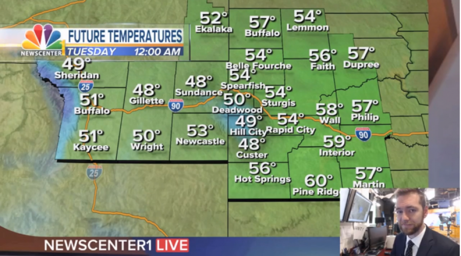 Taste of Fall: Cooler conditions with clouds moving in later today
