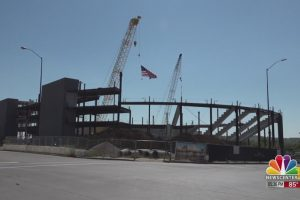 Monument Arena starting to take shape, on schedule for fall 2021 completion