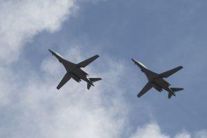 Ellsworth B-1s returning to Guam for Bomber Task Force operation