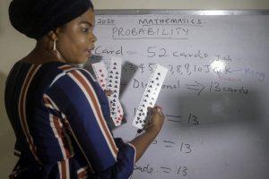 In pandemic, Nigerian teacher can 'teach the whole world'