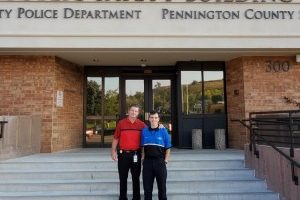 Like father, like son: PCSO Captain welcomes son in new role as community service officer