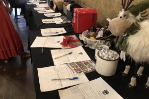 A silent auction to beat cancer