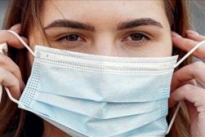Practicing proper mask hygiene