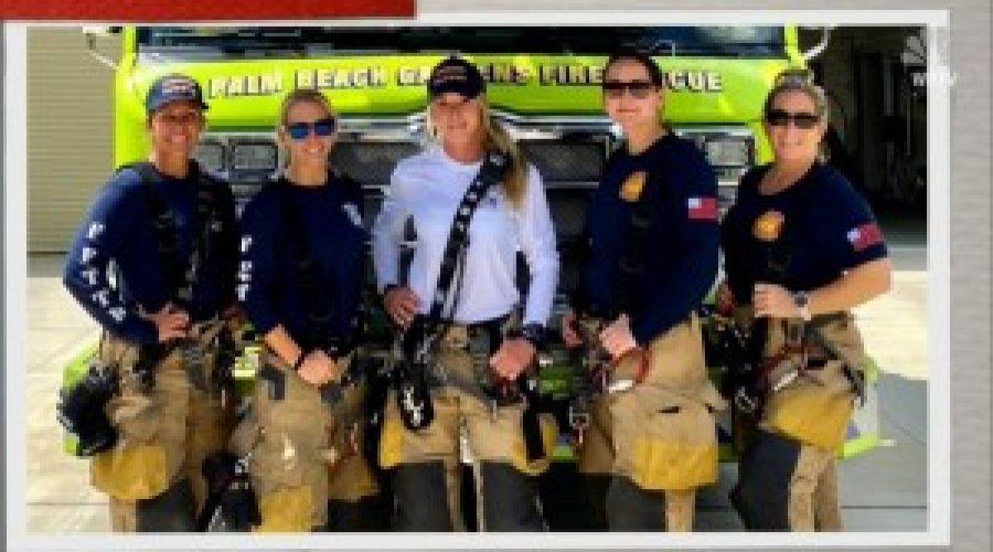 VIDEO: All Female Fire Rescue Crew