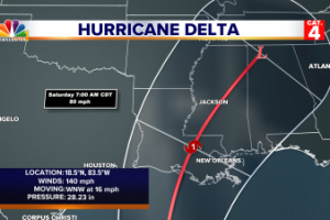 The Erik Files: Hurricane Delta is now a CAT 4!
