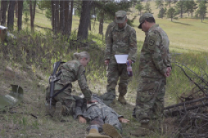 South Dakota Guard Soldiers go head-to-head in Best Warrior Competition