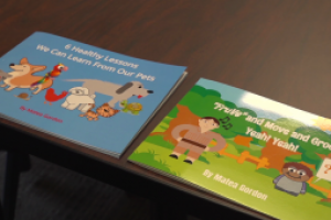 A junior at Sturgis Brown High School wrote two books to promote a healthy lifestyle