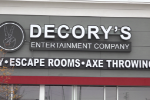DeCory's Entertainment is almost ready to open its doors