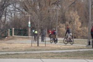 Thanksgiving Day bike ride