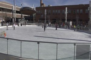 Main Street Square opens ice skating rink for season