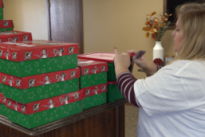 Operation Christmas Child donates to children in need