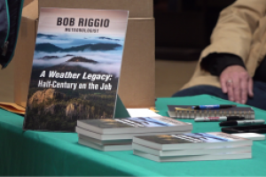 """""""A Weather Legacy: Half a Century on the Job"""" a book by Bob Riggio"""