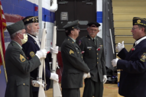 Hot Springs School District hosts Veterans Day ceremony to honor those who have served in the military