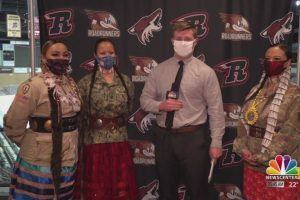 Lakota Women Warriors to present colors at Rush game