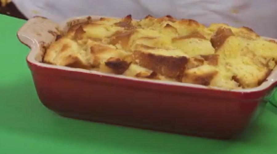 Eats – Buttermilk Bread Pudding Recipe