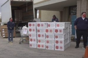Salvation Army food, toy distribution brings Christmas spirit to those in need