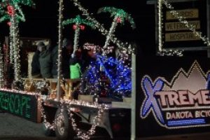 The Sturgis Parade of Lights kicks off