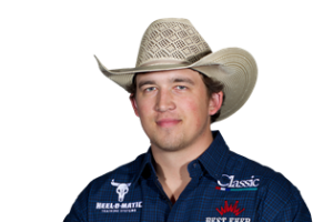National Finals Rodeo Round 8: Levi Lord ties for 3rd in the team roping