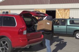 Gifts distributed by the Pennington County Toys for Tots to give back to those in need this holiday season
