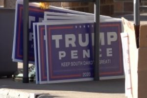 """Pennington County Republican Party holds peaceful """"Don't Steal the Vote"""" rally"""