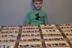 Rapid City third grader creates Crayola crayon molds and sells alongside his mother