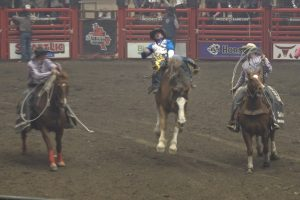 RODEO RAPID CITY: Jamie Howlett grabs early lead in the Bareback Riding