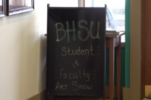 First ever BHSU Student and Faculty Art Show