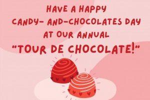 """Tour de Chocolate"" a sweet success despite the bitter cold"