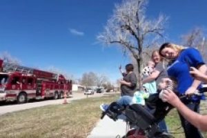 WATCH: six-year-old Athen of Rapid City celebrates his Wish Day