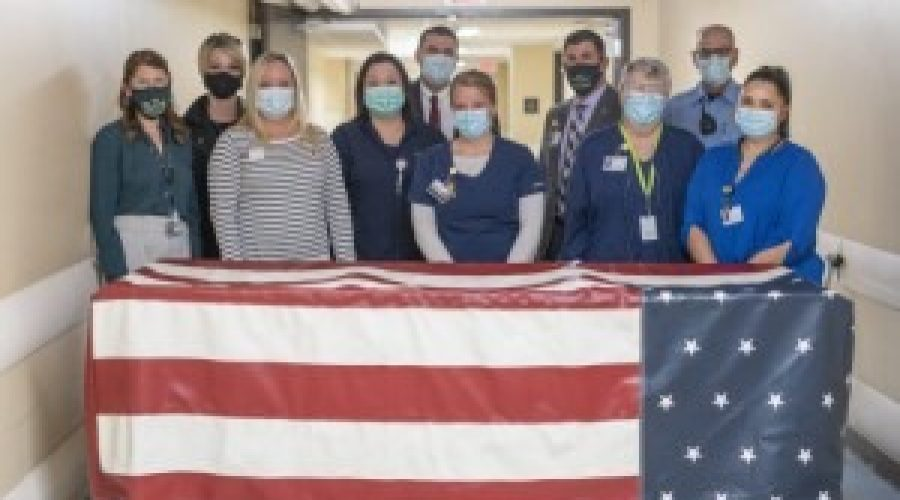 Monument Health Hero Walk offers veterans a respectful, final tribute