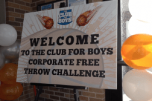 Club for Boys hosts their annual Basketball Free Throw Challenge