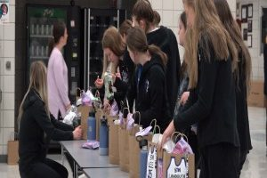 St. Thomas More Girls Basketball team receives rousing send-off to state tournament