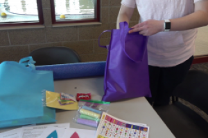 """Roosevelt Swim Center gets ready for Easter early with holiday """"Goodie Bags"""""""