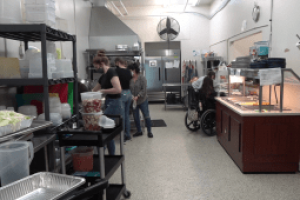 Fork Real Community Café welcomes a 15-year old guest chef into their kitchen