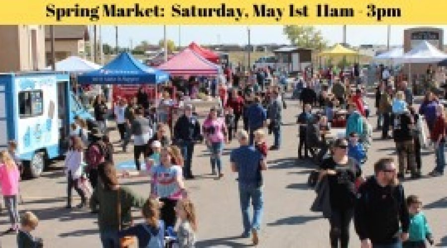 First annual Spring Market set for Saturday, May 1 in Box Elder