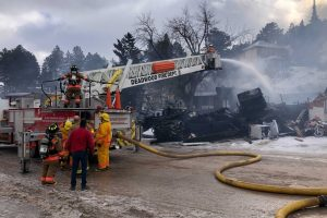 Community helps Lead business owner rebuild after February fire destroys business