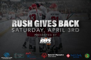"""""""Rush Gives Back Night"""" coming up on Saturday"""