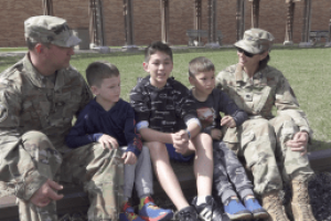 Life in the military poses challenges but also opportunities