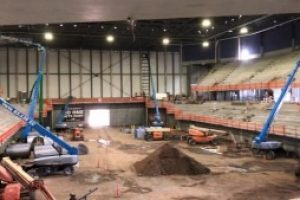 The Monument officials plan for first event in Summit Arena as completion nears