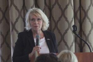 Retired female two-star General highlights B21 presentation