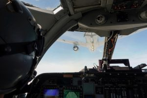 Ellsworth B-1 crew makes history during first refueling with KC-46A