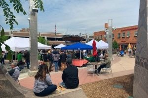 Main Street Square hosts eighth annual Frühlingsfest and Spring Market